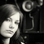 model sabrina -portrait - von Fotograf Ulf Pieconka